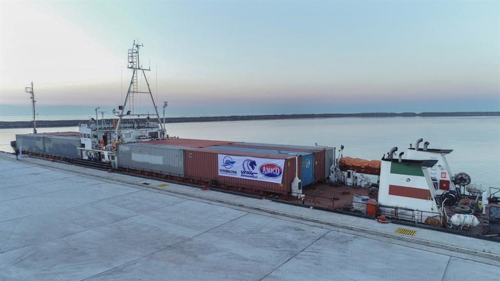 The fifth and sixth commercial ships arrived Caspian Port Complex via China – Kazakhstan - Iran Corridor