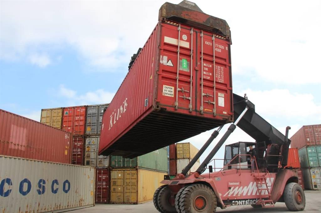 Transit of the first shipment of Chinese goods to Iraq through the Caspian port complex