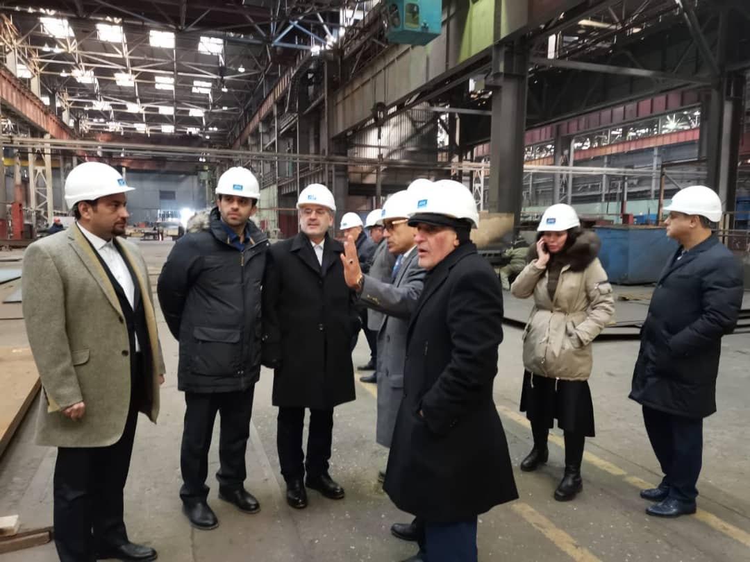 Establishing joint Russian-Iranian Company for marketing and building new ships