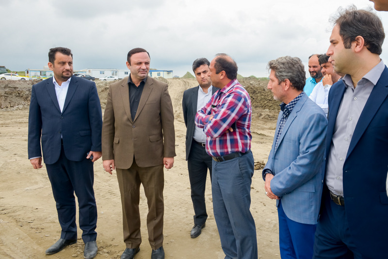 Emphasis on speeding up construction of Ro-Ro berth of Caspian Port complex