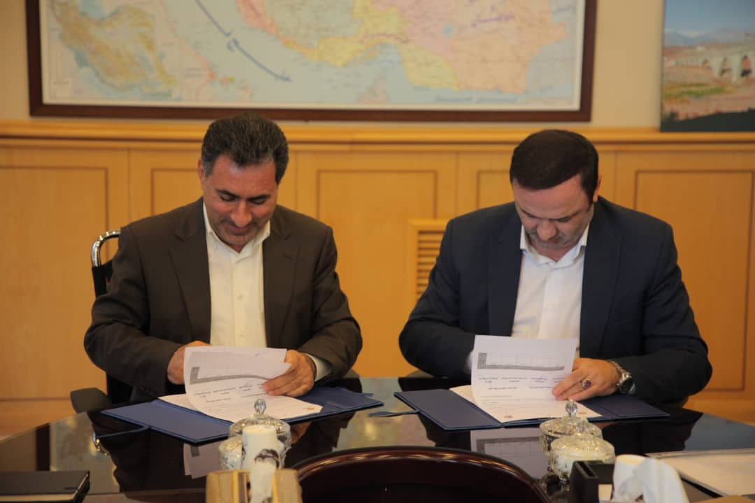 An agreement has been signed between Anzali free zone and railway construction company